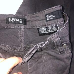 Buffalo David Bitton Mid Rise Skinny Jeans